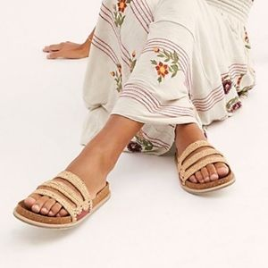 Free People Crete footbed sandals